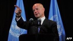 William Hague, Ministër i Jashtëm i Britanisë