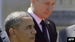 Presidenti amerikan, Barack Obama, dhe ai rus Vladimir Putin