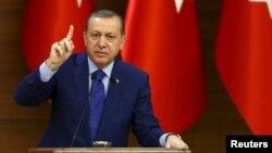 Түрк президенти Режеп Тайип Эрдоган.