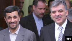 Իրանի եւ Թուրքիայի նախագահներ Մահմուդ Ահմադինեժադի եւ Աբդուլա Գյուլի հանդիպումը Թեհրանում, արխիվ