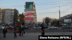 Intersecţia Bulevard Ştevan cel Mare şi Sfânt - strada Ismail