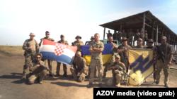 Хорватський доброволець полку «Азов» звернувся до гравців збірної Хорватії з футболу