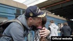 Прибуття українсьих моряків з Криму до Одеси, 6 квітня 2014 року