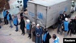 Ndihmat në Siri (foto nga arkivi)