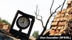 УКМКнын террористтерди кармоо боюнча атайын операциясы учурунда күйгөн үйлөр. 2015-жыл