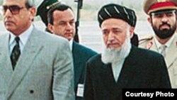 برهان الدین ربانی، رئیس پیشین شورای عالی صلح افغانستان که در نتیجه یک انفجار در کابل کشته شد.