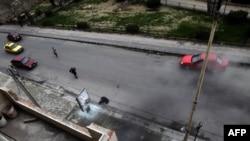 La Homs la 11 ianuarie