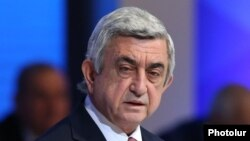 Президент Армении Серж Саргсян (архив)