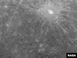 Первая фотография поверхности Меркурия