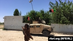 Afghan forces are fighting the Taliban in Nad-e Ali Helamand Province.