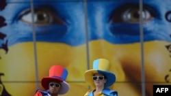 Украина жанкүйерлері. Донецк, 15 маусым 2012 жыл