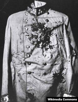Franz Ferdinand-ın qanlı uniforması