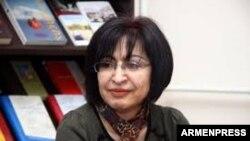 Հայաստանի թանգարանների ազգային կոմիտեի նախագահ Մարինե Հարոյանը:
