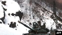 რუსეთის ტანკები ჯავასთან, 2008 წლის 21 იანვარს
