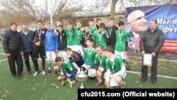 Победители футбольного турнира в Крыму