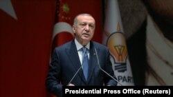 Туркия президенти Ражаб Тоййиб Эрдўғон.