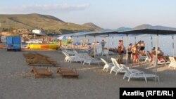 Пляж у Кактэбелі, Крым