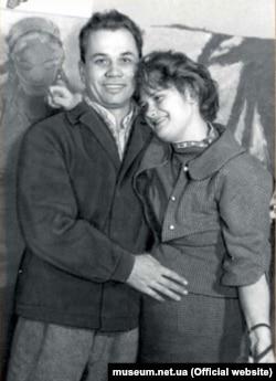 Алла Горська із чоловіком Віктором Зарецьким