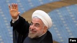 Новоизбранный президент Ирана Хасан Роухани