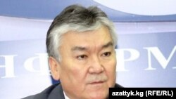 Сабыржан Абдыкеримов, саламаттыкты сактоо министри.