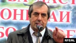 Dushanbe Mayor Mahmadsaid Ubaidulloev (file photo)