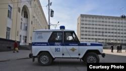 """Полиция на Стефановской площади. Фото Кирилла Шейна, """"7x7"""""""