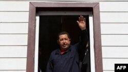 هوگو چاوز، رئیس جمهوری ونزوئلا.