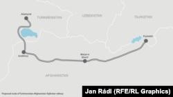 Türkmenistan-Owganystan-Täjigistan demirýol taslamasy