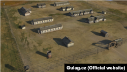 3D-модель исправительно-трудового лагеря