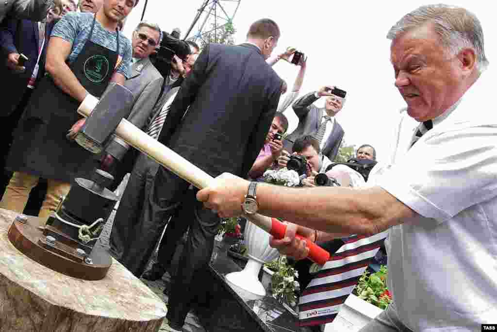 Глава РЖД участвует в мероприятиях, посвященных Дню железнодорожника в Екатеринбурге