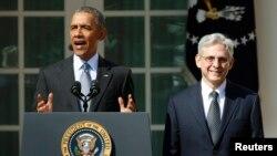 Barack Obama duke e shpallur nominimin e gjyqtarit Merrick Garland