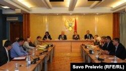 Sastanak skupštinskog odbora i predstavnika medija, 17. septembar 2012.