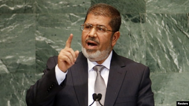 Ousted Egyptian President Muhammad Morsi has not been seen in public since July 3.