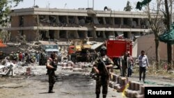 Afghan officials blamed the Pakistan-based Haqqani network for the May 31 truck bombing in Kabul that killed more than 150 people.