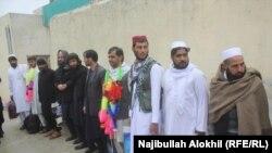 زندانیان آزاد شده از زندان لوگر