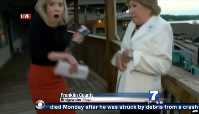 In what was dubbed America's first social-media murder, a reporter and a cameraman in Virginia were shot dead by a disgruntled former colleague during a live television interview.