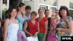 Moldova - Graduates of a vocational school, Chisinau, July2009