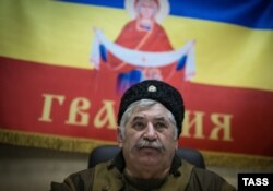 Ватажок козаків угруповання «ЛНР» Микола Козіцин