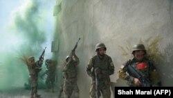 افغان ملي اردو (ارشيف)