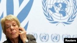 Carla del Ponte - hetuese e Kombeve të Bashkuara për konfliktin në Siri.