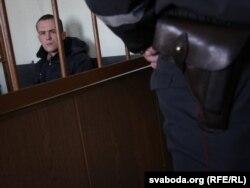 Васіль Парфянкоў падчас суду за Плошчу