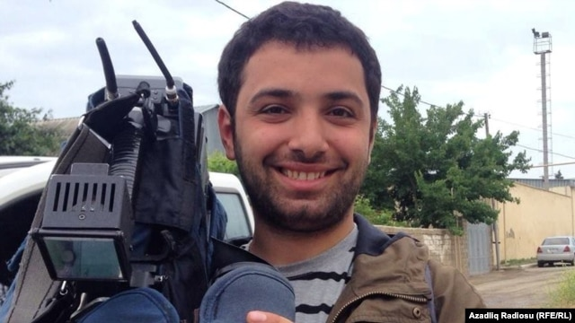 RFE/RL Azerbaijani Service reporter Turkhan Karimov (file photo)