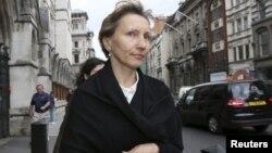 Marina Litvinenko e veja e ish-agjentit të KGB-së Aleksandr Litvinenko