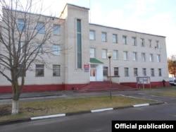 Будівля Круглянського РУВС