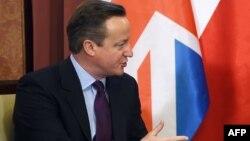 Премьер-министр Великобритании Дэвид Кэмерон. Варшава, 5 февраля 2016 года.