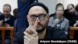 Кирилл Серебренников на заседании суда 4 декабря 2017 года
