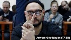 Кирилл Серебренников на заседании суда, Москва, Россия, 4 декабря 2017 год
