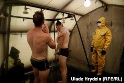 Першыя вучэньні на Беларускай АЭС, рэпэтыцыя аварыі