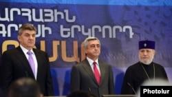 Համաշխարհային հայկական կոնգրեսի 2-րդ համագումարի բացման արարողությունը: