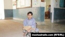 Больной полиомиелитом